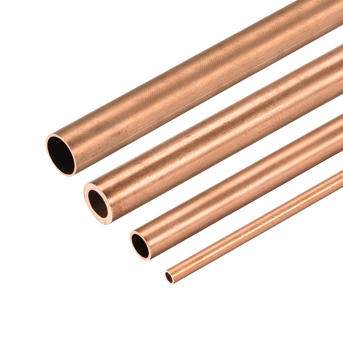Used For Cooling Water Heating Tool Generator Copper Tube-cable Switch Equipment-DIY 300mm Long Hollow Straight Tube BTCS-X 1PCS Copper Round Tube 8mm-30mm Outer Diameter 100mm 200mm