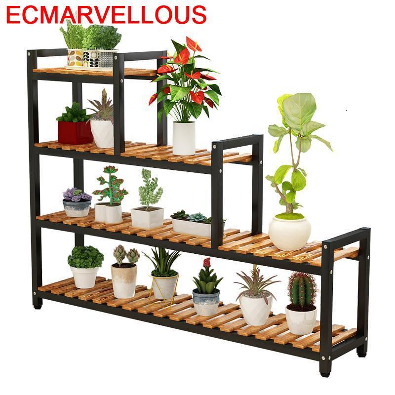 Estanteria Escalera Pot Indoor Terraza Mueble Para Plantas Balcony Shelf Dekoration Outdoor Flower Stojak Na Kwiaty Plant Stand