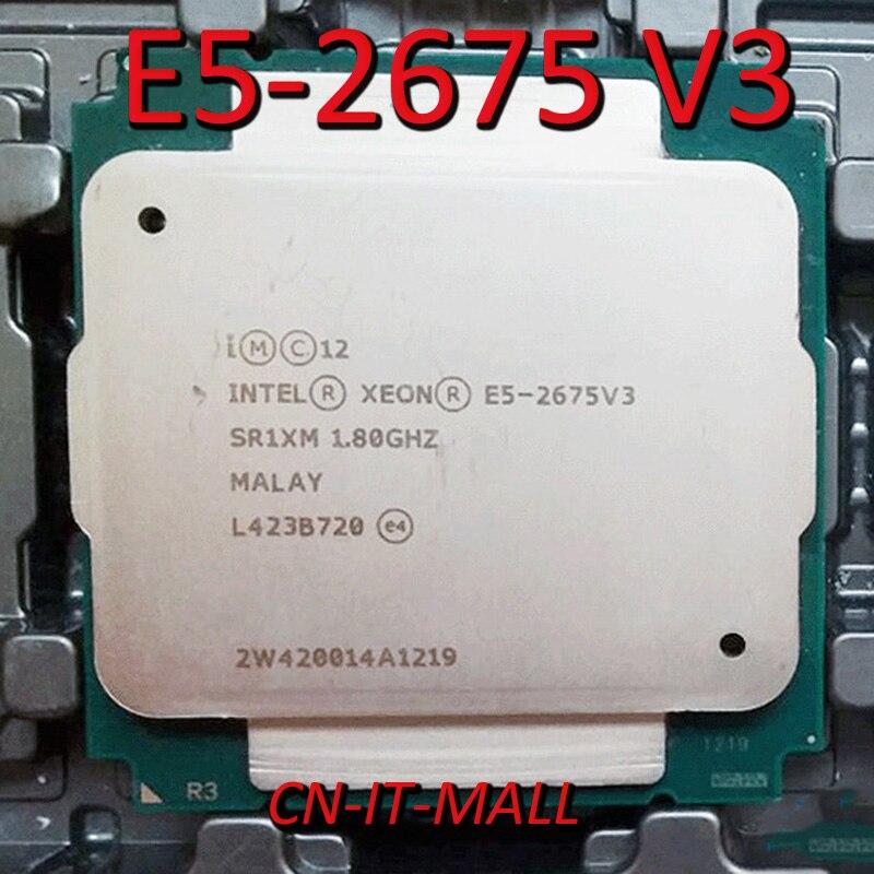 Pulled E5-2675 V3 Server Cpu 1.8G 40M 16Core 32 Thread LGA2011-3 Processor