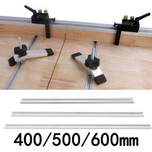 Алюминиевый 400/500/600 мм с Т-образными пазами слайдер под углом джиг набор инструментов для деревообработки 1 шт. товары для домашнего сада