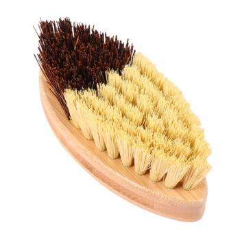 Wooden Sisal Hemp Brush Oilproof Cleaning Brush Pot Pan Dish Scrubber Kitchen Utensil Cleaner Bathroom Cleaning Tool 1