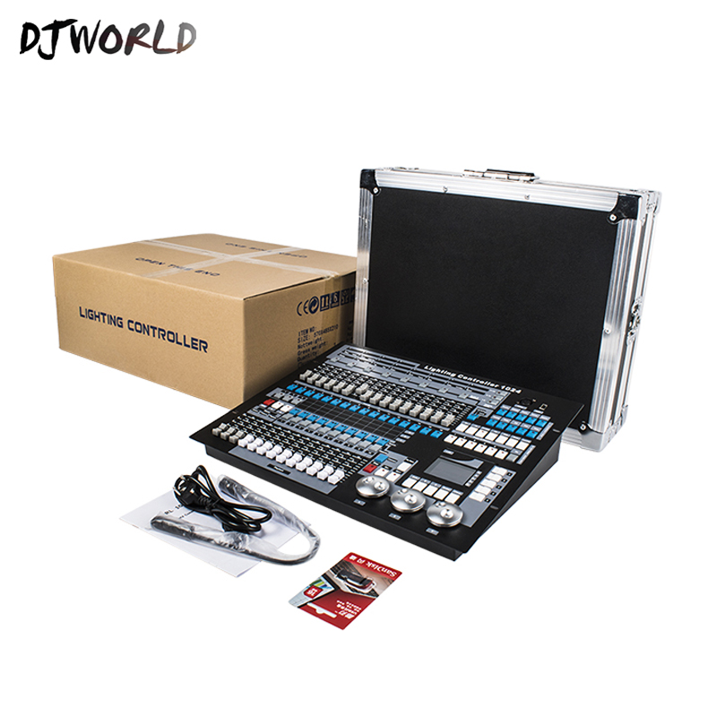 DJworld DMX Controller 1024 Light Console DMX 512 DJ Controller Equipment International Standard For Stage Dj Lighting COB Par