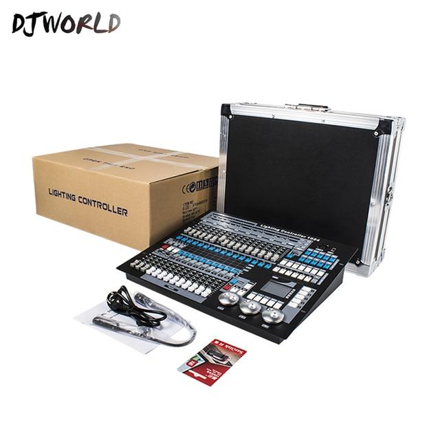 มาตรฐาน DMX Conlose 1024 สำหรับแสงเวที DMX 512 Controller DJ อุปกรณ์สำหรับ Moving Head Light PAR Light COB เอฟเฟกต์แสงบนเวที ไฟและระบบไฟ -