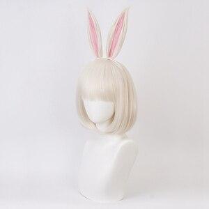Image 5 - Anime BEASTARS Haru Perücke Kaninchen Cosplay Kostüm Synthetische Haar Party Cosplay Perücken