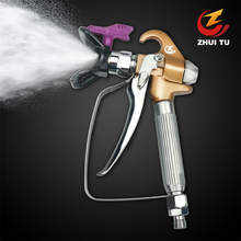 3600PSI High Pressure Airless Paint Spray Gun +The bottom of the nozzle is stainless steel+wagner paint sprayer titan