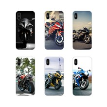 Untuk Apple Iphone X XR XS 11Pro Max S 5 4S 5 5C Se 6S 7 8 PLUS Ipod touch 5 6 Transparan Lembut Tas Yamaha Motor Balap Valentin(China)