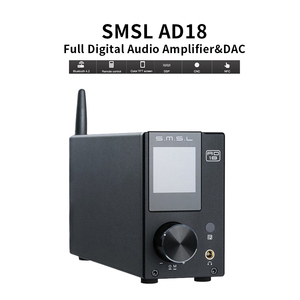 Image 2 - SMSL AD18 HIFI amplificateur Audio stéréo Bluetooth Apt X USB DAC amplificateur lecteur DSP pleine puissance numérique amplificador 2.1 pour haut parleur