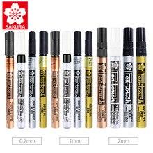 1 шт. японская ручка для покраски сакуры XPSK, золотой, серебряный, белый, медный цвет, автомобильный маркер для подкрашивания, водонепроницаем...