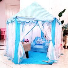 Jouer maison jeu tente balle Pit piscine pliable princesse château pliant tente jouet pour enfants enfants fille garçons cadeau