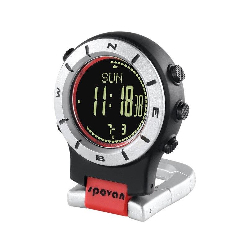 Spovan Multi-function Handheld Altimeter Barometer Compass Compass Compass Outdoor Products Smart Watch