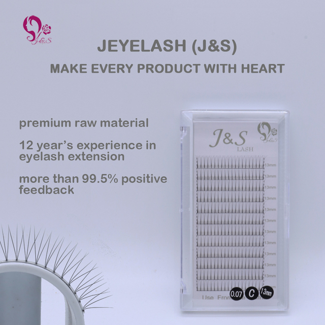 10trays volume W 3D Eyelash Extension 0.10 Individual Eye Lashes Professional Makeup Tools Thick Long Lash From Korea 1