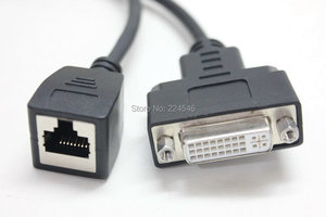 Image 3 - FOR Huawei HD Camera HD VI Adapter Cable HDVI to RJ45 + DVI Female HD Cable Cloud