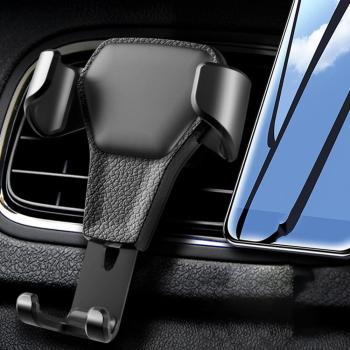 Gravity Car Phone Holder in Car Air Vent Clip Mount No Magnetic Mobile Cell Phone Stand Support For iPhone 11 XS X XR image