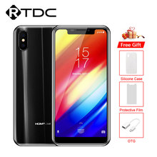 HOMTOM H5 5.7 ''ekran 4G LTE MT6739 dört çekirdekli akıllı telefon 1440x720 13MP 3GB 32GB hızlı şarj yüz kimliği parmak izi cep telefonu