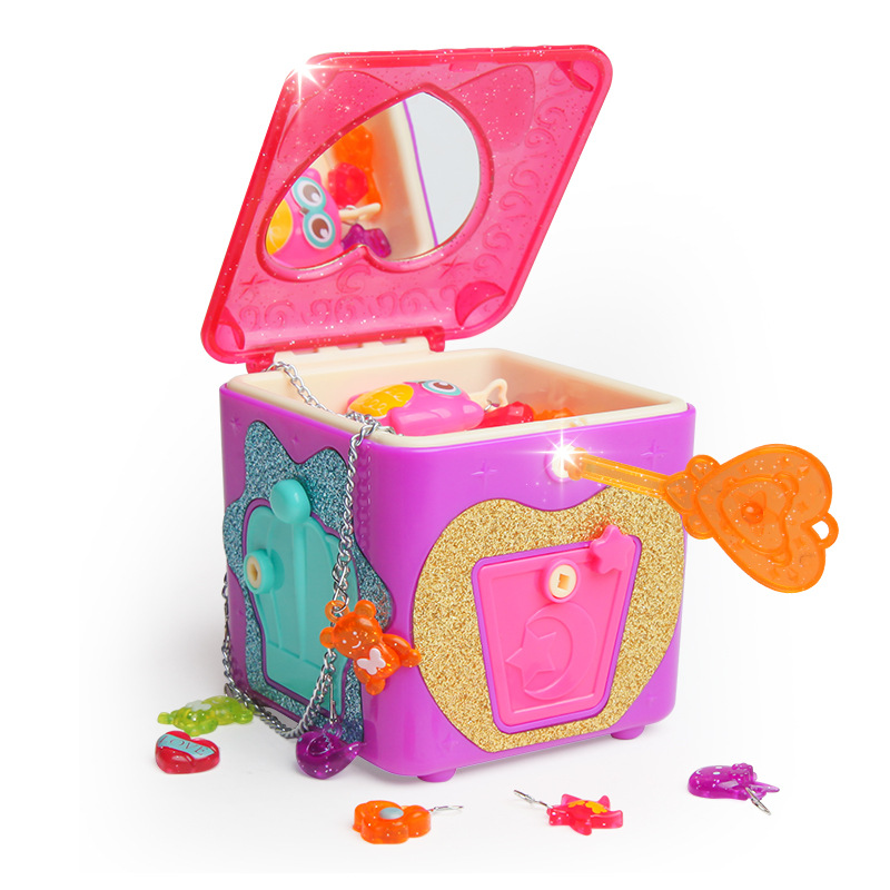 Surprise Treasure Box Jewelry Blind Box Girl Play House Jewelry Box Demolition Le Dresser Toy Gift