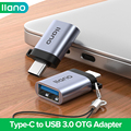 Адаптер LLANO USB Type C на USB 3,0, адаптер Thunderbolt 3 Type-C, OTG кабель для Macbook, Samsung, Xiaomi, Lenovo, USB OTG