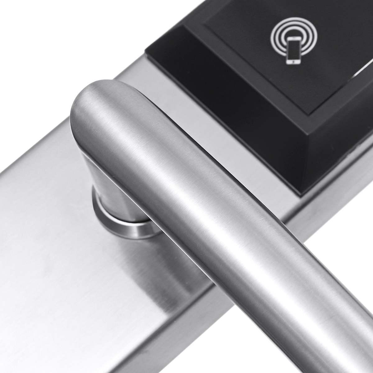 Verrouillage bluetooth App électronique numérique serrure de porte Wifi contrôle tactile clavier Code RFID carte sans clé entrée intelligente serrures USB - 4