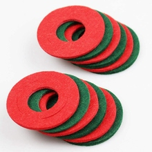 12 Pieces Battery Terminal Anti Corrosion Washers Battery Washers Battery Terminal Protector Car Battery Shim