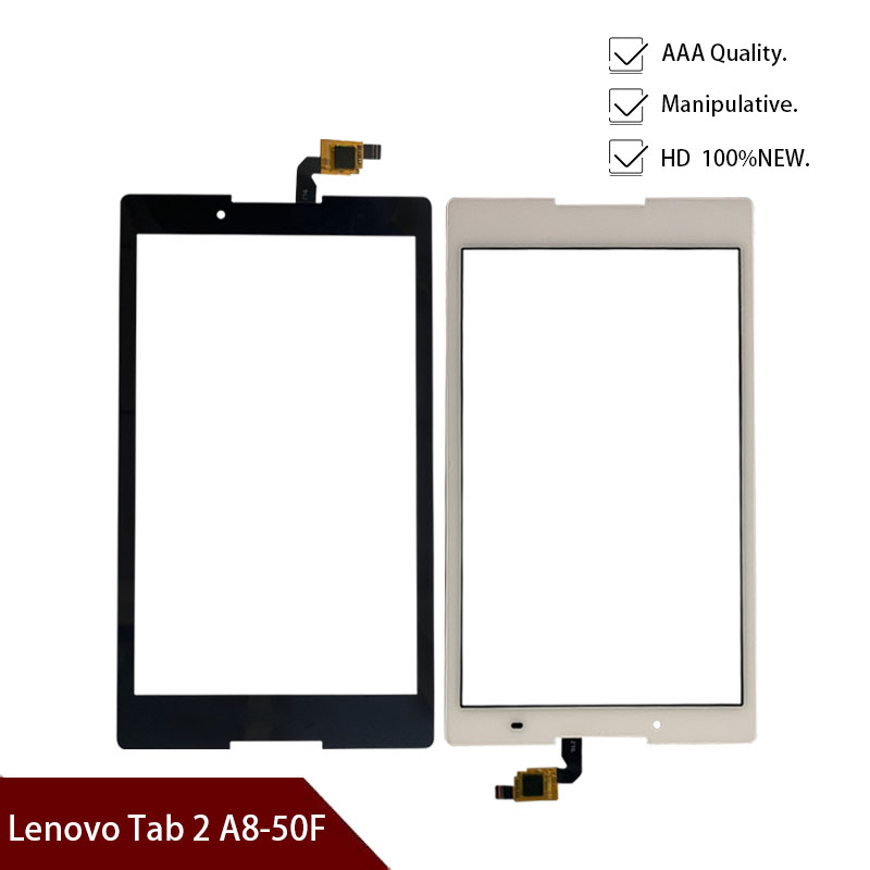 New Original Touch Screen Digitizer Glass Sensor Replacement For Lenovo Tab 2 A8-50F A8-50LC A8-50 Free Shipping