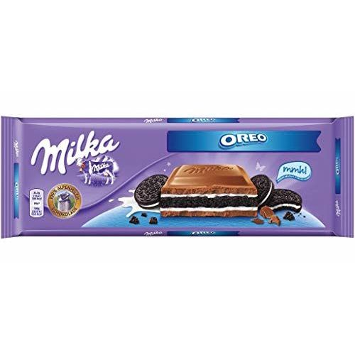 Milka Oreo Chocolate 300g Large Bar