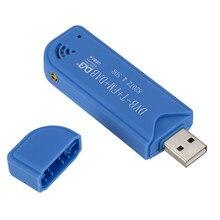 Mini vara de tv portátil com usb 2.0, receptor de tv digital dvb t + dab + fm rtl2832u sdr acessórios