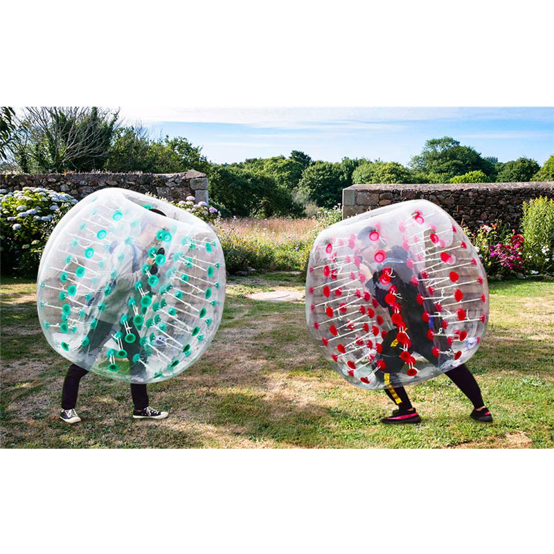 1.7m PVC Human Inflatable Zorb Ball Air Bubble Soccer Football Entrainement Bumper Ball Fitness Team Sports Equipment for Adult