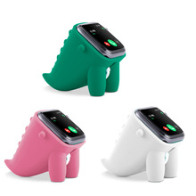 2021 Cute Dinosaur Watch Stand for Apple Series 6/5/4/3/2/1 44mm/42mm/40mm/38mm Bedside Table Accessories Watch Charging Base