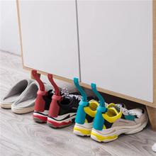 Leniwy pomocnik do butów Unisex obsługiwane łyżka do butów łatwe zakładanie i zdejmowanie butów podnoszenie butów podnoszenie butów #8 tanie tanio Wieszak na buty Lazy Shoe Helper