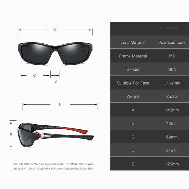 2020 Fashion Sports Polarized Sunglasses Women Men Golf Fishing Running Sunglasses UV400 Protection Ultra Light 3