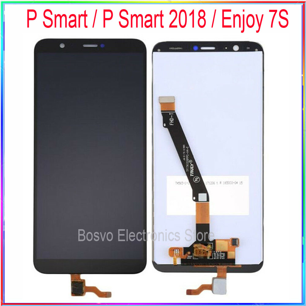 For Huawei P Smart LCD Screen Enjoy 7s Display With Touch Assembly Replacement Repair Parts  P Smart 2018
