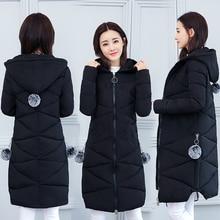 Slim women's down jacket plus women's long cotton jacket women's winter jacket Mr.nut woman's park abrigos mujer invierno 2019 стоимость