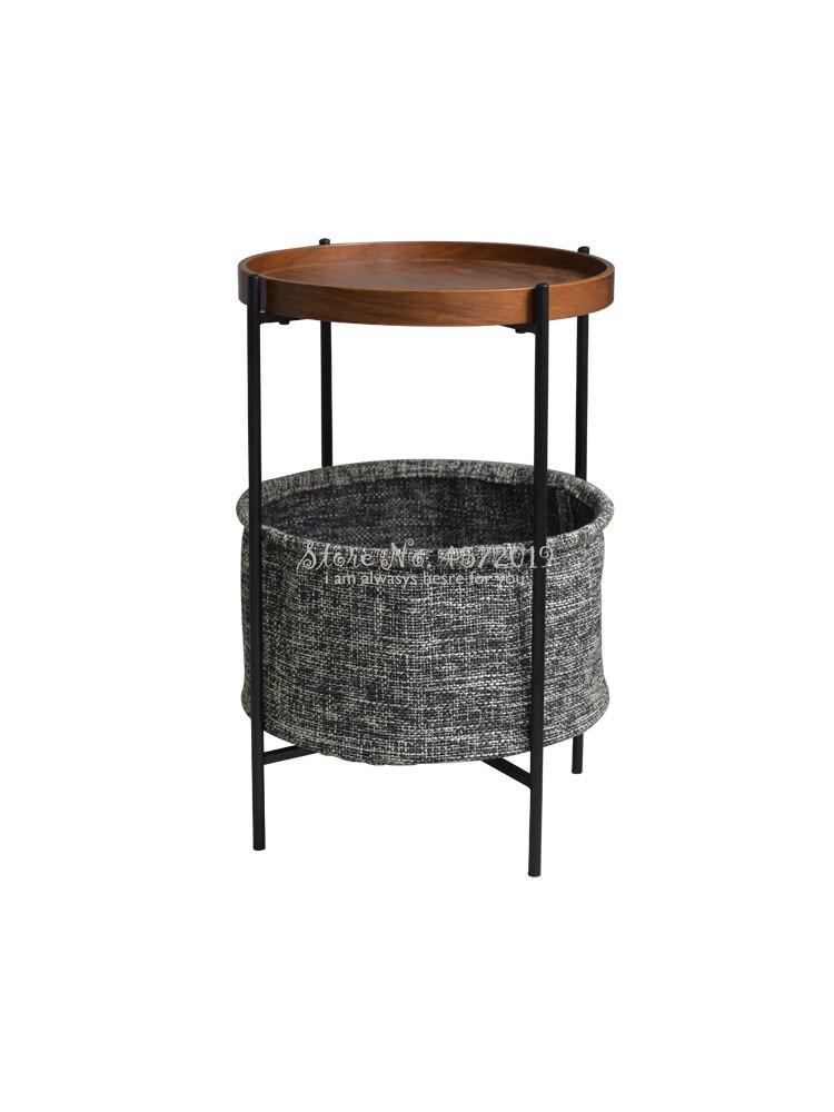 Nordic Modern Minimalist Creative Sofa Side Living Room Mobile Small Corner Small Apartment Small Luxury Small Coffee Table