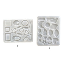 Casting Silicone Mold Pendants Jewelry-Making-Tools Diy-Crafts Crystal-Epoxy-Resin Decorative