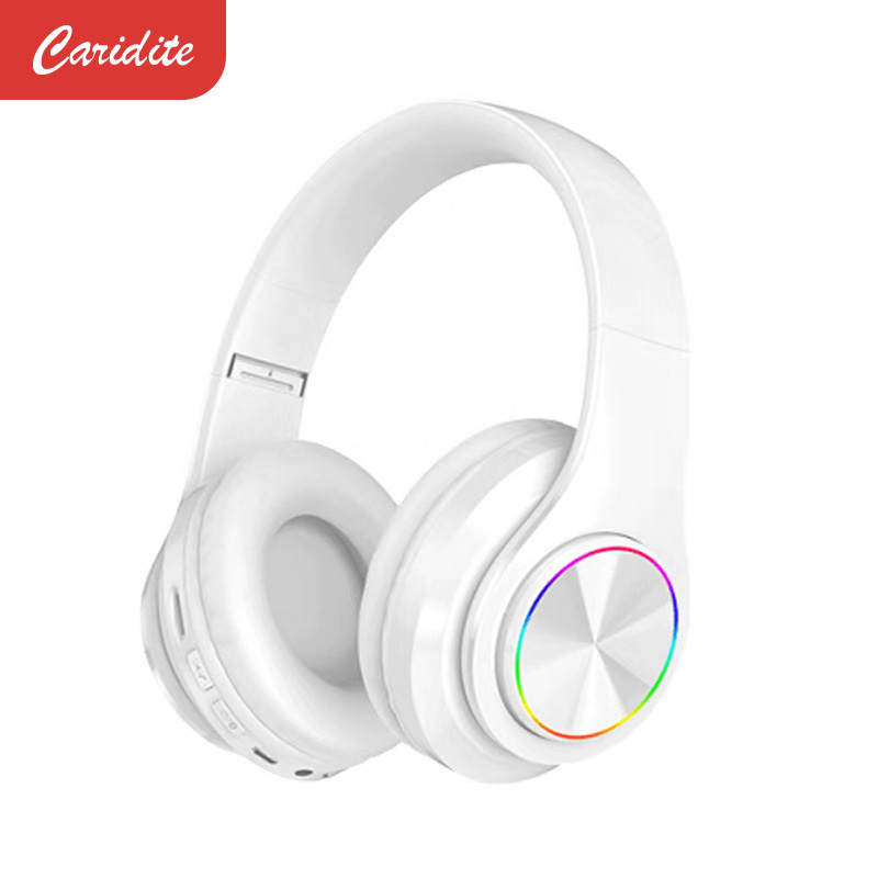 Caridite Popular Wireless Bluetooth Headband Game Headphone for Grils Gift Colorful BT 5.0 Headset Beauty Bluetooth Headphone