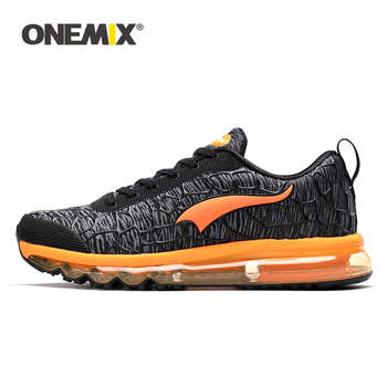 ONEMIX Men Running Shoes For Outdoor Damping Air Cushion Walking Sneakers Women Tennis Sport Shoes Summer Trainers Free Shipping