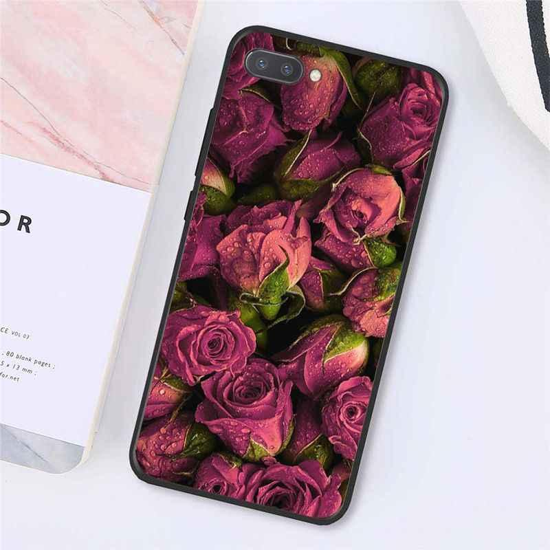 MaiYaCa Rosa Fiore di Peonia In Vaso di Cassa Del Telefono per Huawei Honor 8X 9 10 20 Lite 7A 8A 5A 7C 10i 9X Pro Gioco 7A Pro 10i 7C