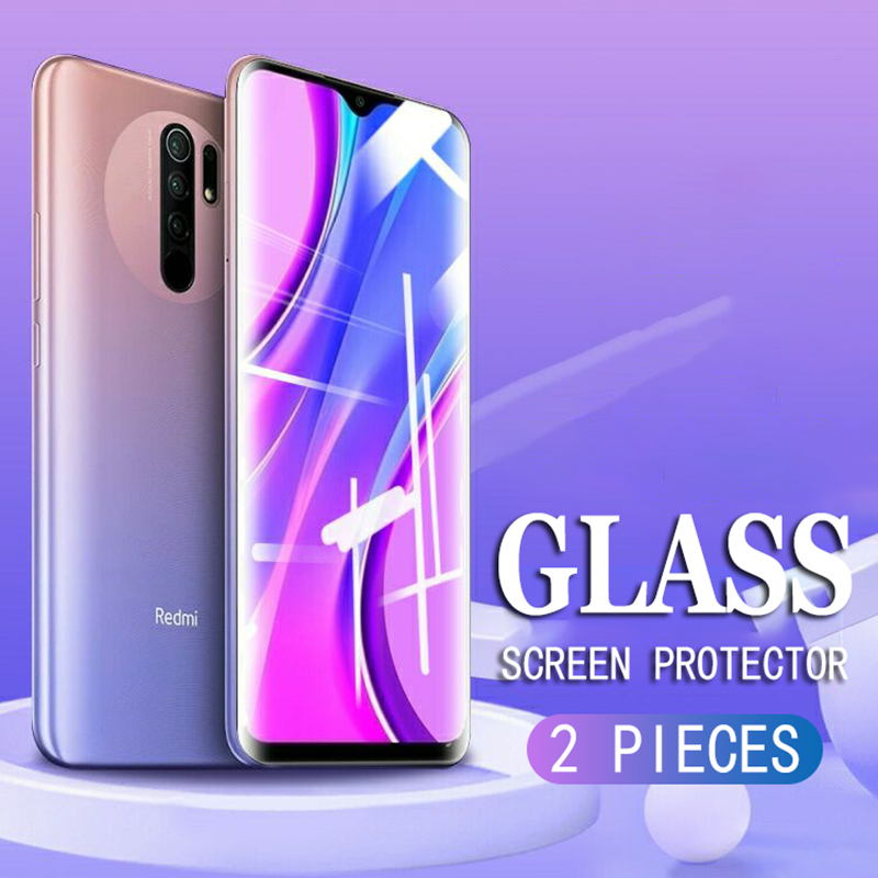 Full Cover Glass on the Tempered Glass For XiaoMi Redmi Note 9 7 8 6 5 Pro 9S 8T 5A Redmi 9A 8A 7A Screen Protector Glass Film(China)