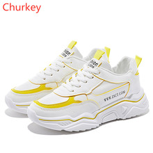 Womens Sneakers Shoes Off White Spring/Autumn Women Fashion 2018 Casual Vulcanized Woman