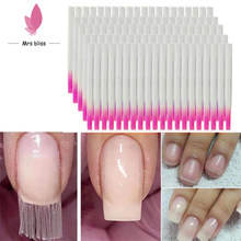 Fibre de verre avec pointe acrylique pour extension d'ongles gel acrylique, accessoire de manucure,
