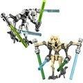 Робот гривус из «Звездных Войн» со световым мечом, сражениями, модель дроида, строительные блоки, игрушки, обучающий подарок для детей