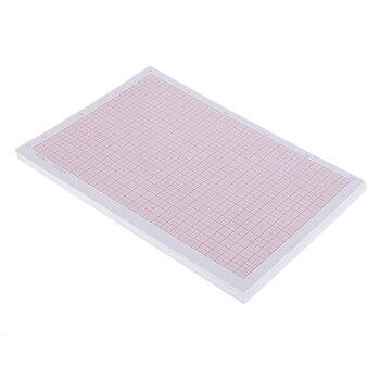 100 piezas A4 precisa papel para coordinar papel de gráfico de las redes de la ciencia de papel cuadrado