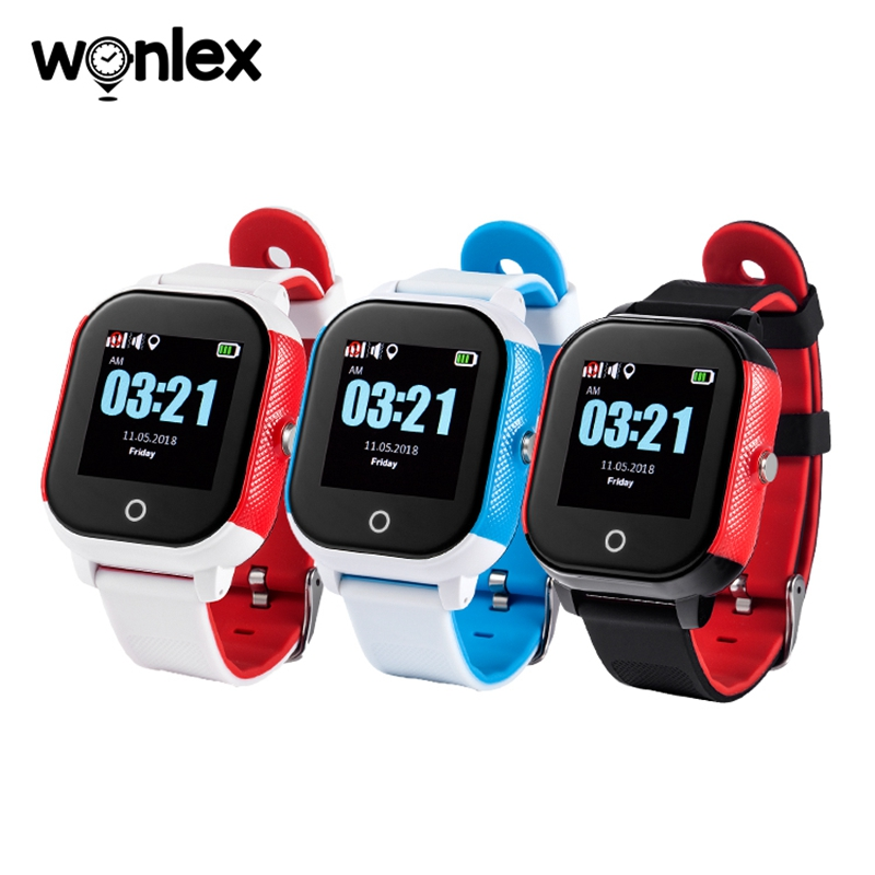 Wonlex GW700S gyerek GPS WIFI intelligens karóra vízálló gyerekeknek (1)