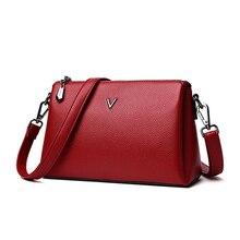 Bolso de piel de marca de lujo para mujer, bandolera de diseñador de alta calidad, femenino
