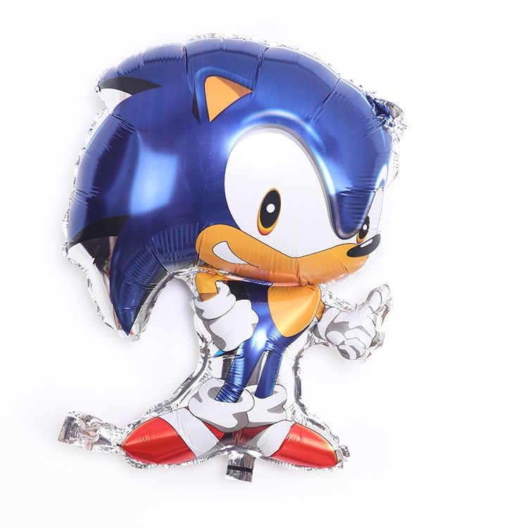 Hot Anime Game Sonic The Hedgehog Figuur Speelgoed Cartoon Sonic Feestartikelen Ballonnen Verjaardag Decoratie Kids Jongens Speelgoed Geschenken