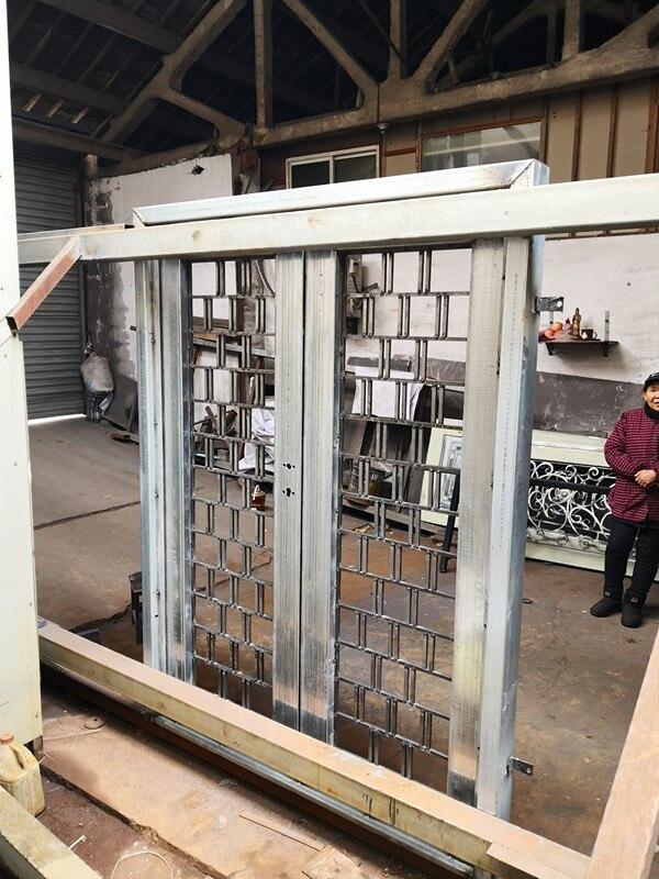 Hench New Iron Grill Window Pipe Door Designs