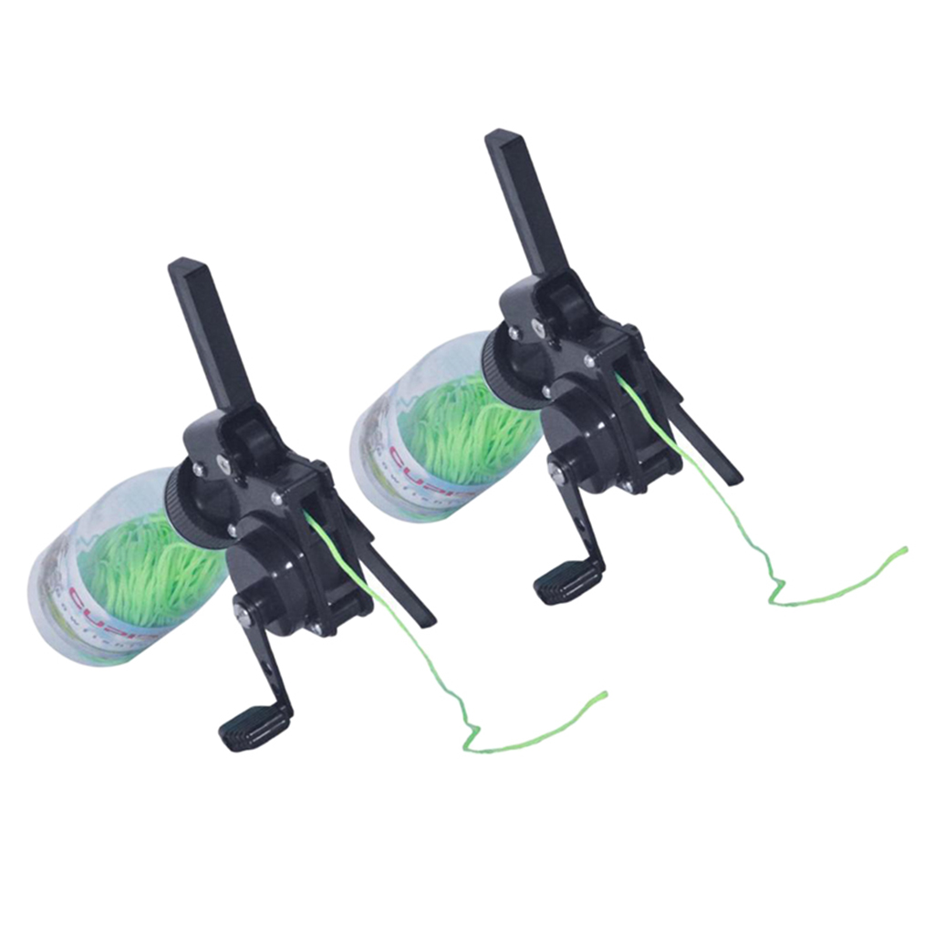 2x Professional Bow Fishing Reel Bowfishing Tool fr Compound Bow Recurve Bow Bow & Arrow    - title=