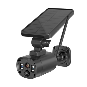 Водонепроницаемая камера на солнечной батарее, HD, двухстороннее, ночное видение, распознавание человека, Alexa, SD-карта/Облачное хранилище для улицы