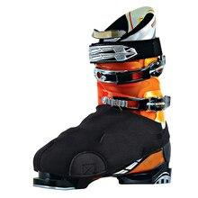 1 пара утолщенных лыжных зимних ботинок; непромокаемые теплые защитные ботинки с износостойкой боковой подкладкой черного цвета; один размер подходит