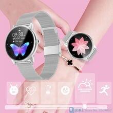 Топ Новые смарт-часы женские умные часы электронные смарт-часы для Android IOS фитнес-трекер полный сенсорный Bluetooth Смарт-часы