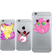 Japan Cartoon Pockets Monsters Pokemons Fatty Clear Phone Case For iPhone Cover X XS Max XR 8 7 6s 6 Plus soft Silicon TPU coque